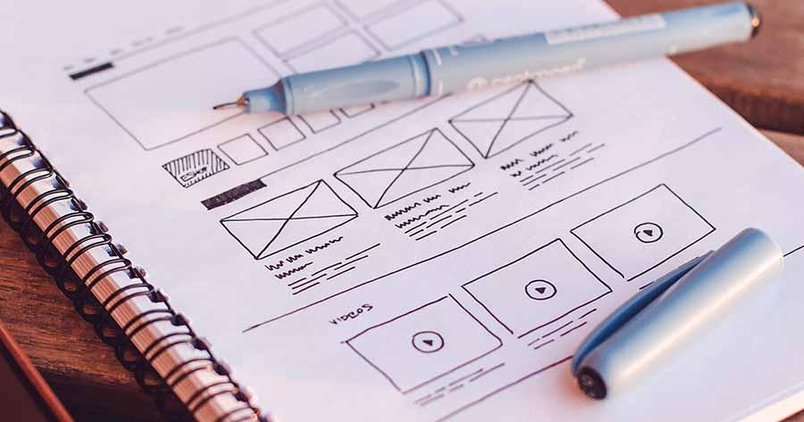 چگونه وایر فریم را طراحی کنیم؟