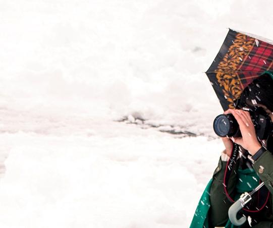 برگزاری مسابقه عکس رشت سپیدپوش همزمان با بارش برف در رشت