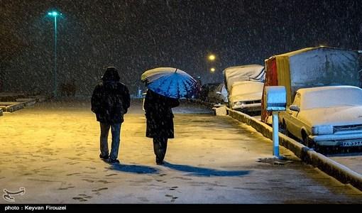 اردبیلیها سردترین شب سال را تجربه کردند