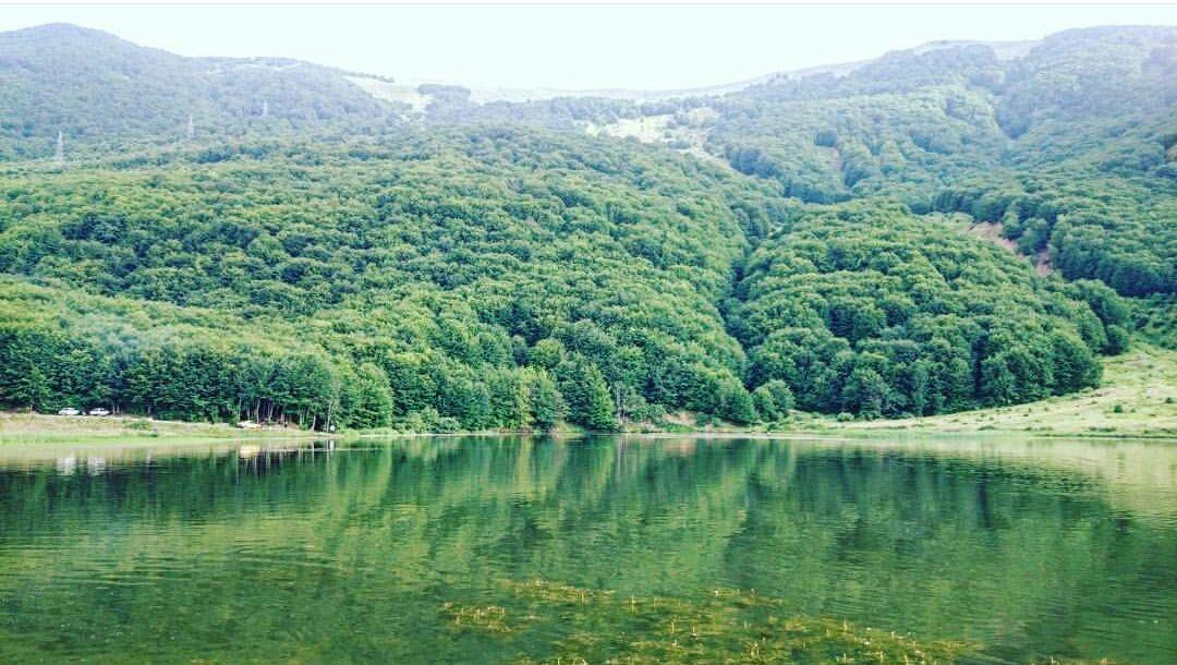 دریاچه ویستان بره سر جاذبه گردشگری رودبار