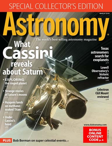 Astronomy March 2018