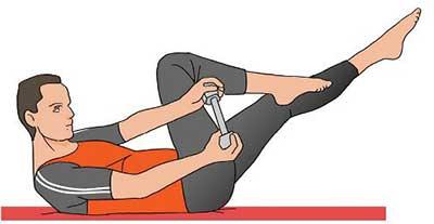 تمرين ورزشي براي کوچک کردن شکم و پهلو - حرکت ورزشي