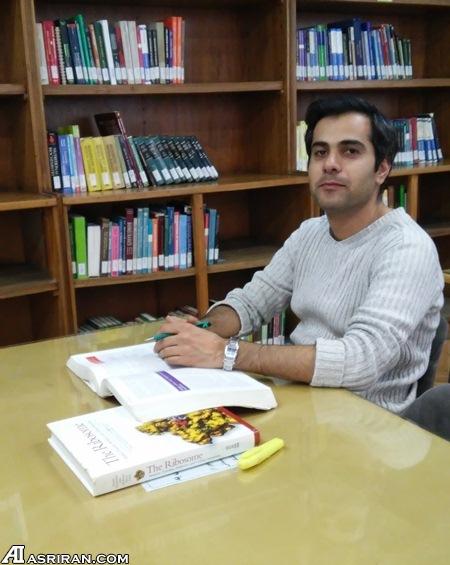 صادق مدرسی؛ یکی از داوطلبان ایرانی سفر به مریخ