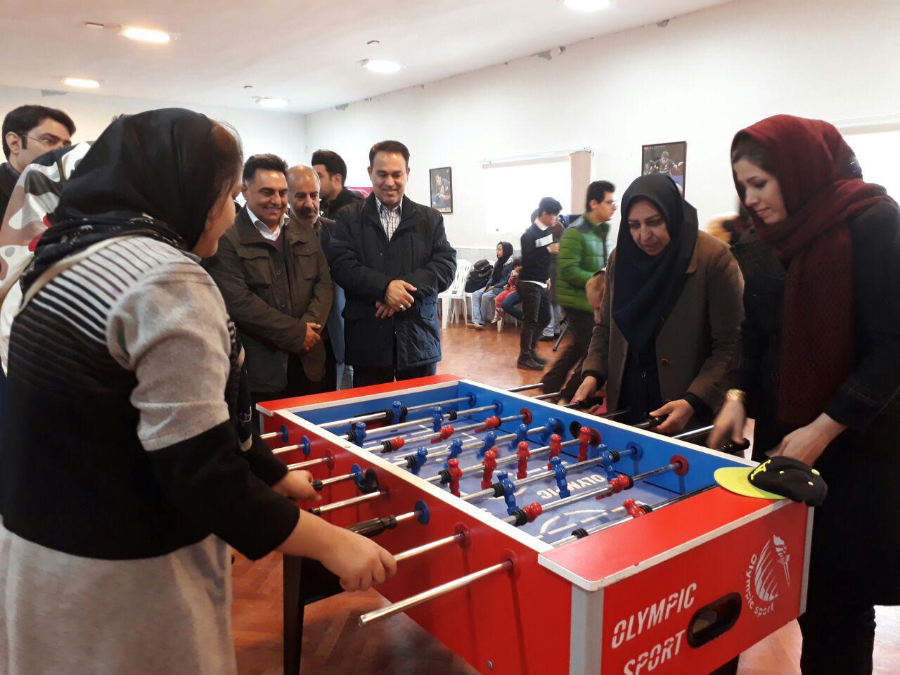 هفته دوم المپیاد ورزشی شهر معرفت برگزار شد/ رقابت 50 خانواده بجنوردی در فوتبال دستی