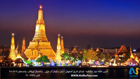 شهر بانكوك پايتخت كشور تايلند