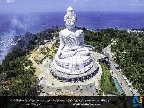 مجسمه بودا مقدس در پوكت