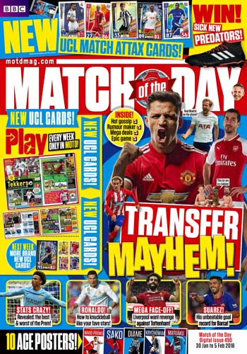 Match of the Day Issue 490 February 2018