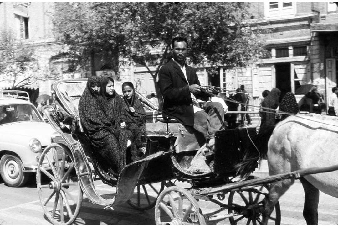 تهران قدیم دهه ۴۰ عکس