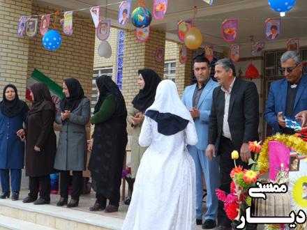 جشن انقلاب در مدرسه شبانه روزی سمیه گچگران