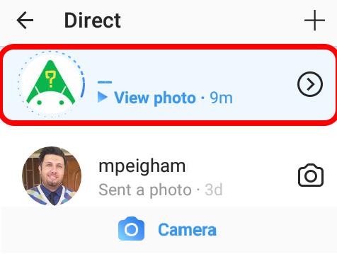 آموزش تصویری ارسال پاسخ تصویری در دایرکت اینستاگرام