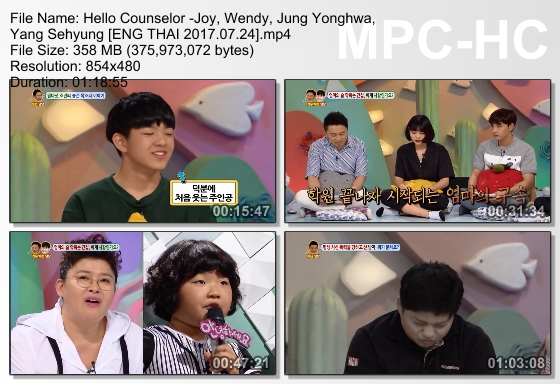 Open Your Eyes - Download TV Show Hello Counselor With Red