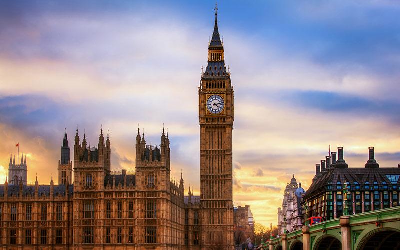 بیگ بن در لندن؛ انگلستان