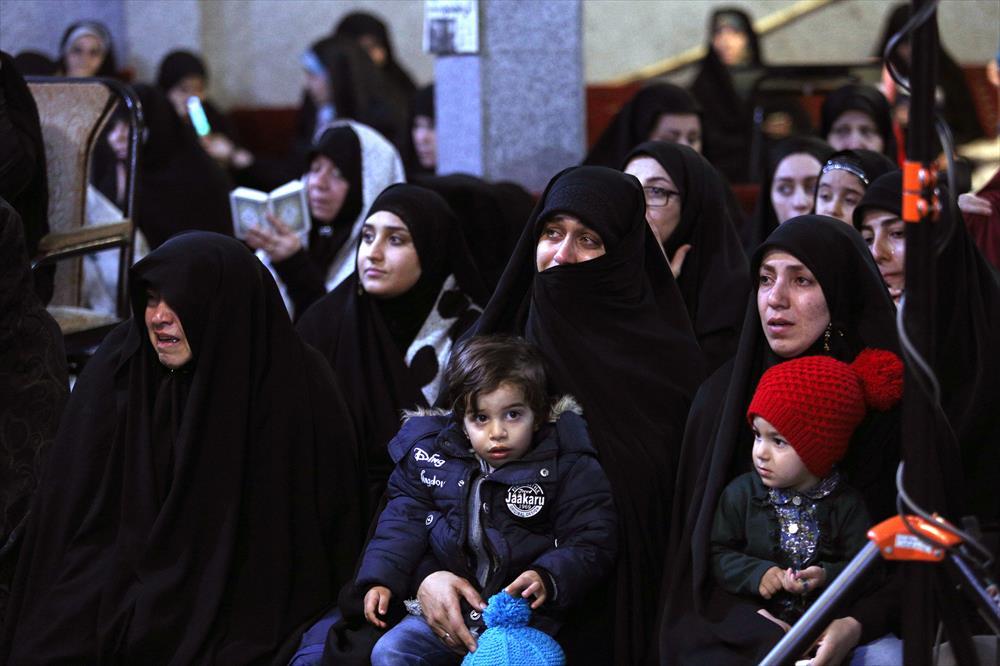 مراسم یادبود شهید مدافع حرم محمد معافی در کرج