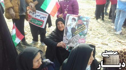 تصاویر راهپیمایی 22 بهمن 96 در شهر مصیری