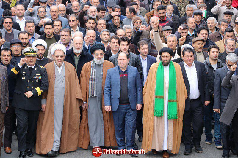 گزارش تصویری برگزاری راهپیمایی یوم الله ۲۲ بهمن در شهرستان بندرانزلی