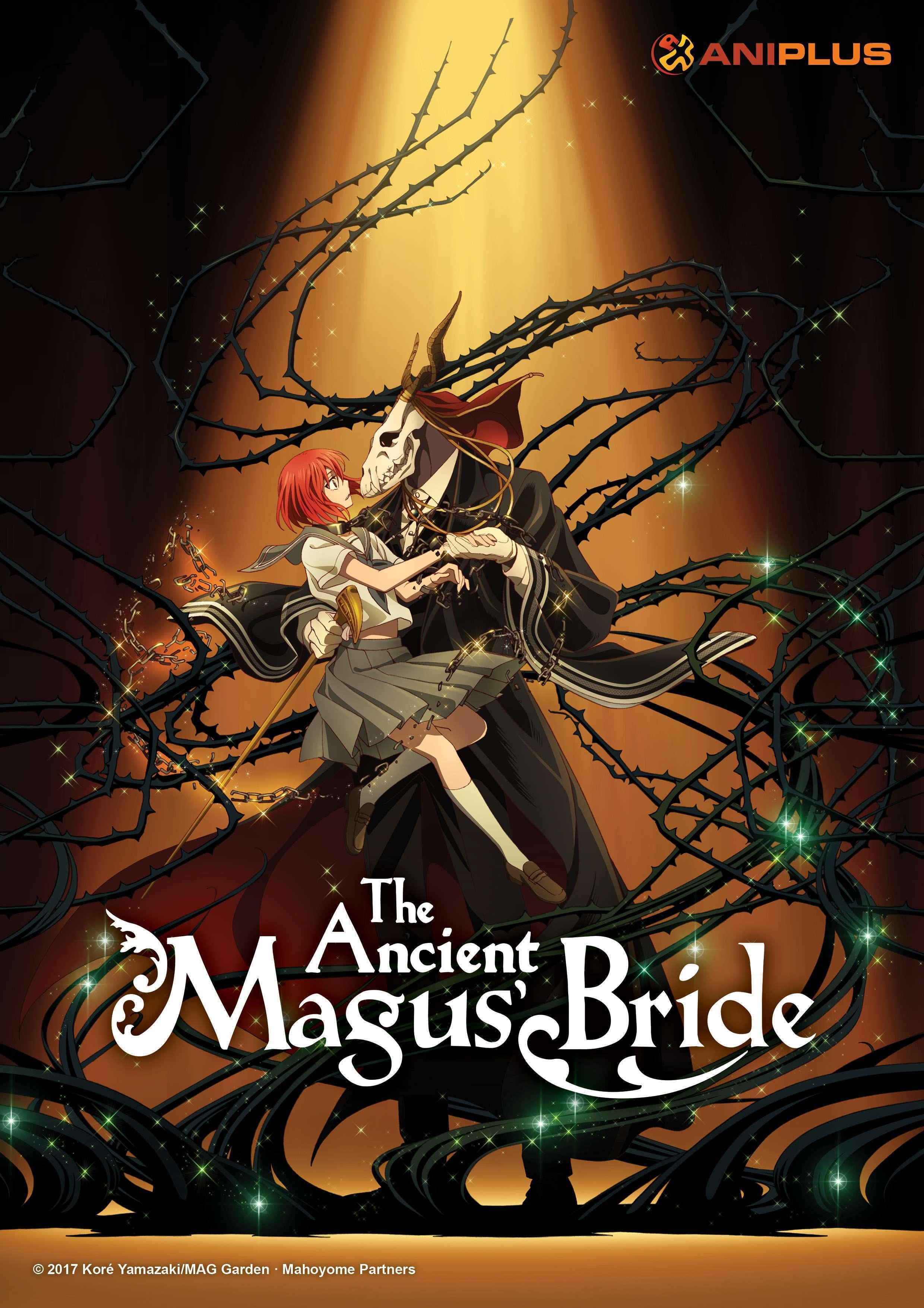 دانلود انیمه عروس جادوگر باستانی Mahoutsukai no Yome 2017
