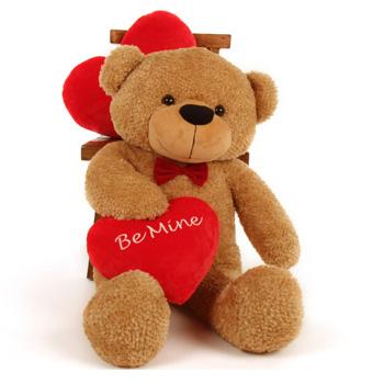 عکس خرس و قلب ولنتاین