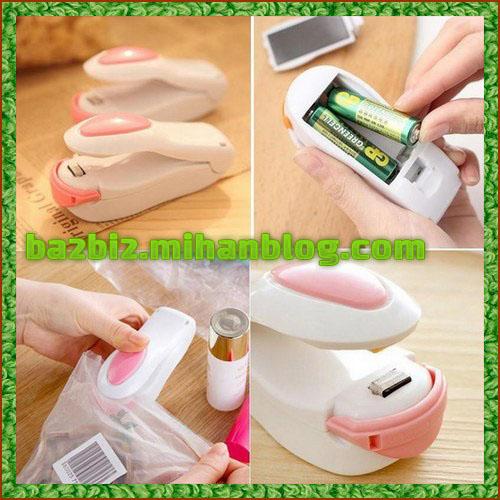 دستگاه مینی پلمپ کیسه حرارتی سیلر کیسه فریزر خانگی