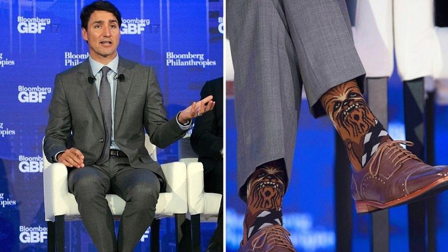 دیپلماسی جوراب های عجیب «نخست وزیر کانادا»