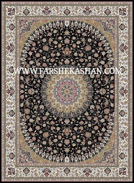 فرش کاشان طرح مهر اصفهان