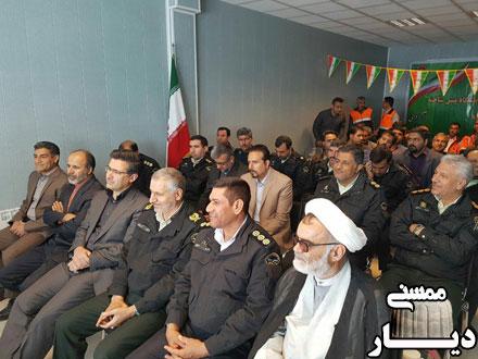 افتتاح ساختمان جدید پلیس راه ممسنی