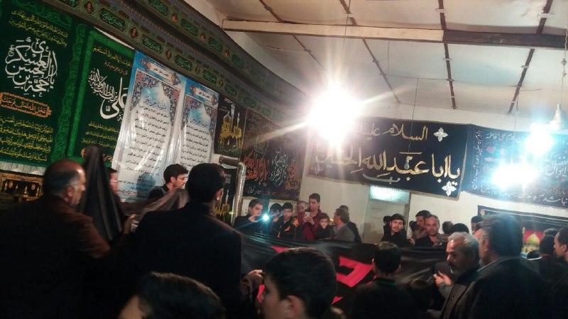 مراسم عزاداری شهادت حضرت فاطمه س آبیزیهای مقیم مشهد