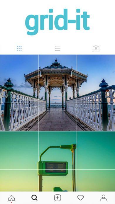 اپلیکیشن grid-it – instagram tiling