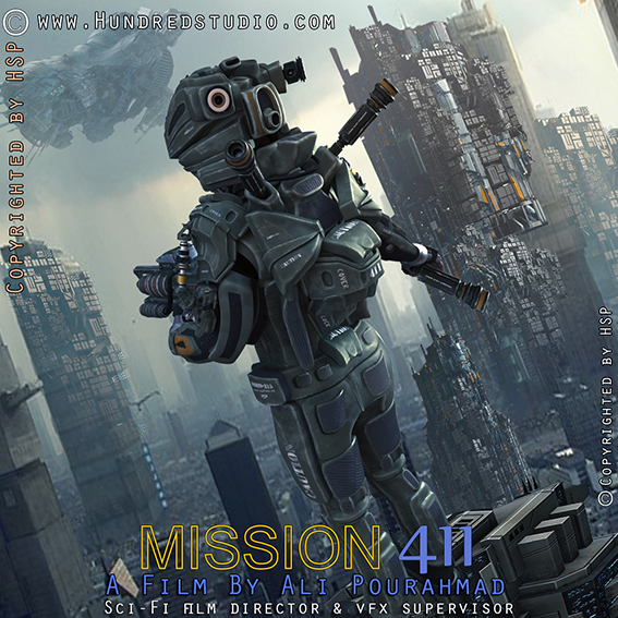 Mission 411 Film Posters Directed By Ali Pourahmad 3dtotal Forums