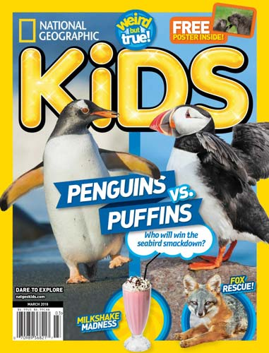 National Geographic Kids USA March 2018