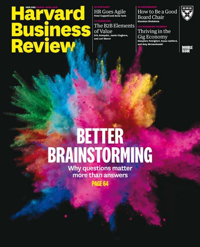 Harvard Business Review March-April 2018