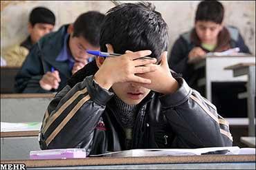آیینه یزد - آزمون ورودی مدارس خاص «آزمون هوش» نبود