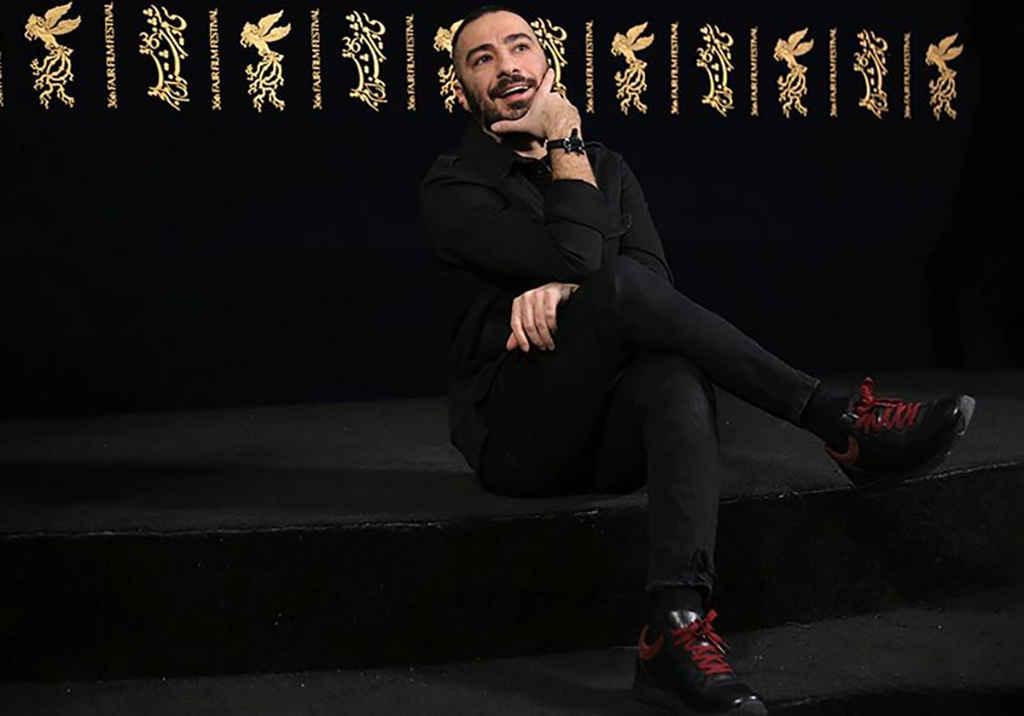 نوید محمد زاده بازیگر در جشنواره فیلم فجر سینمایی مغزهای کوچک زنگ زده