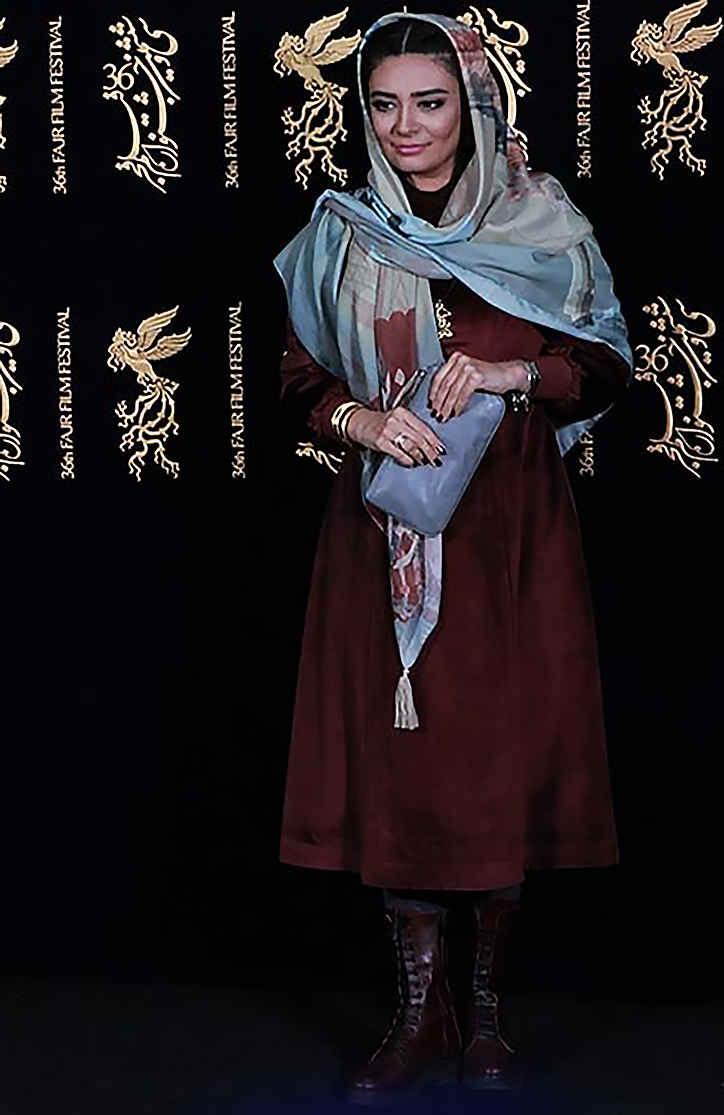 لیندا کیانی بازیگر در جشنواره فیلم فجر