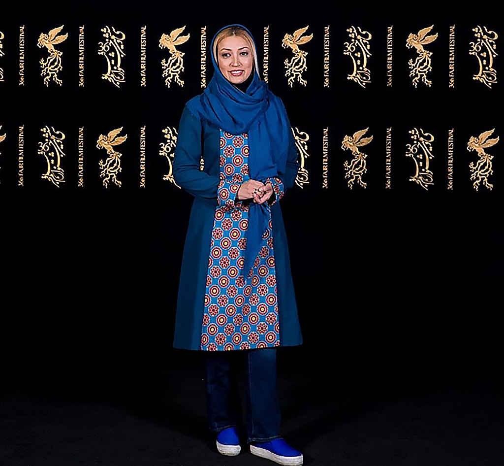 نگار عابدی بازیگر در جشنواره فیلم فجر