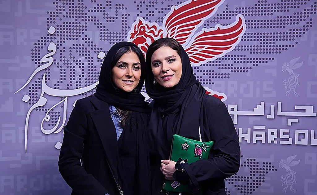 هدی زینالعابدین و سحر دولتشاهی بازیگر در جشنواره فیلم فجر