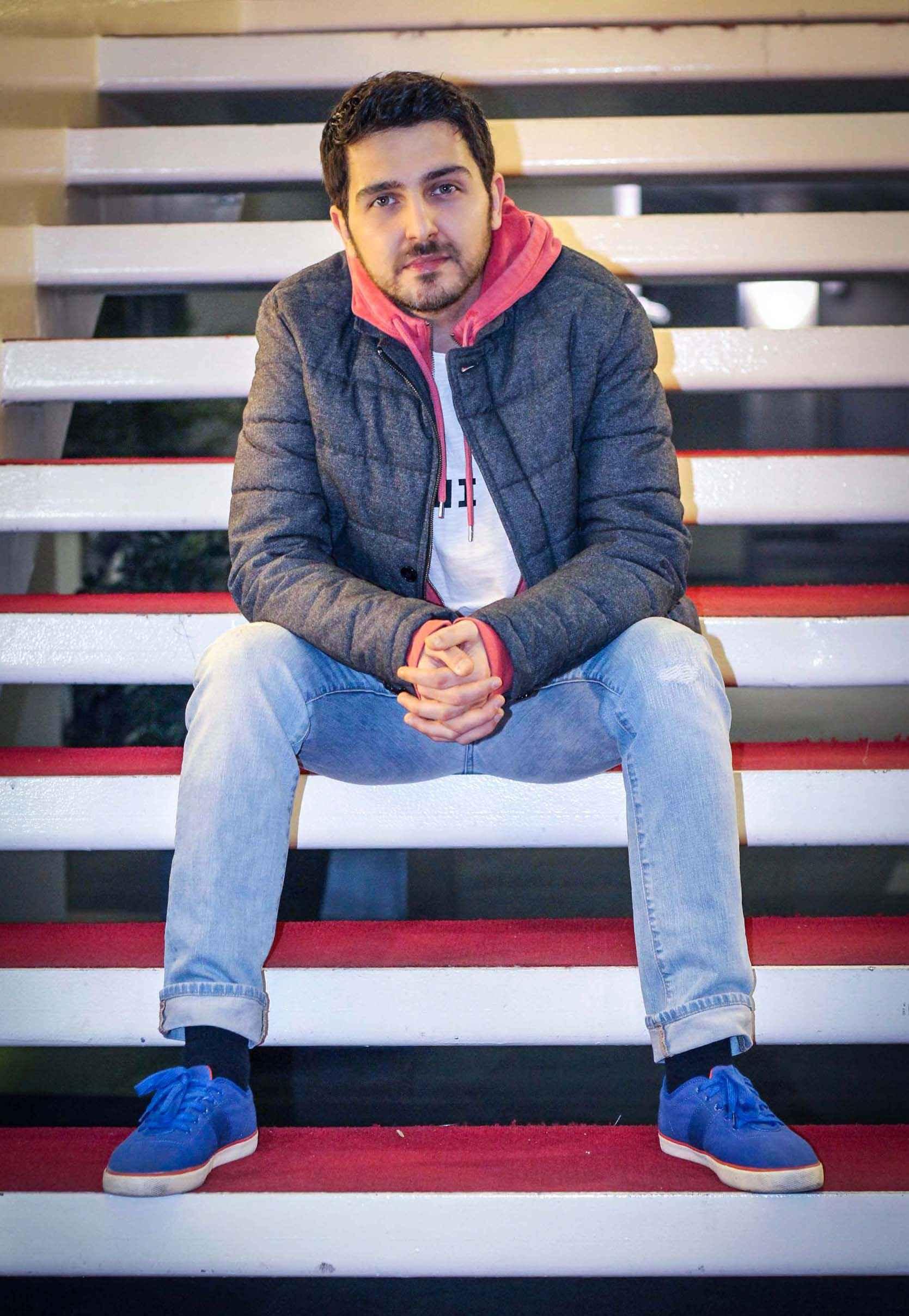 محمدرضا غفاری بازیگر در جشنواره فیلم فجر