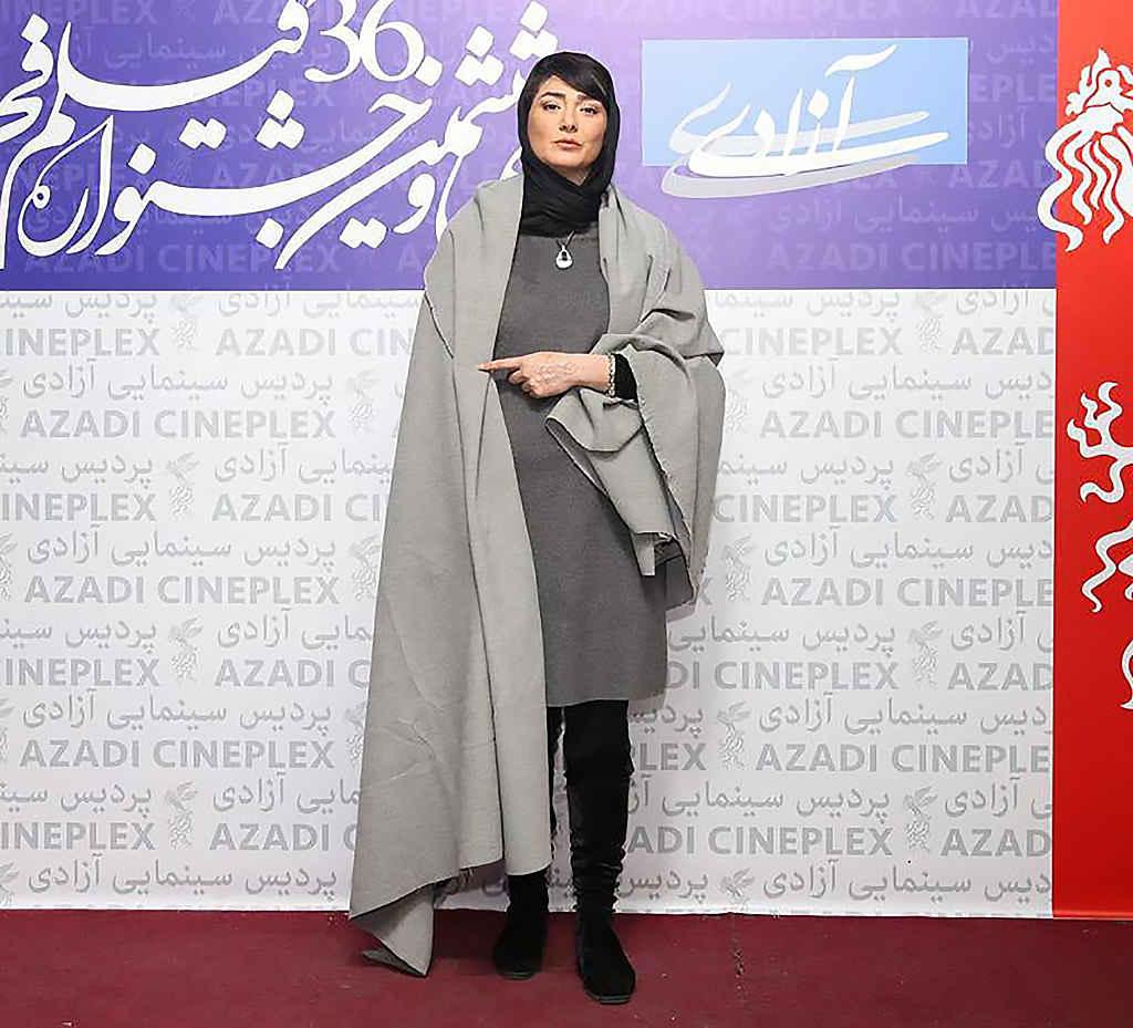 مینا وحید بازیگر در جشنواره فیلم فجر