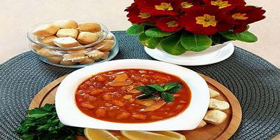 طرز تهيه خوراک لوبيا چيتي با قارچ | مجله اينترنتي هلو