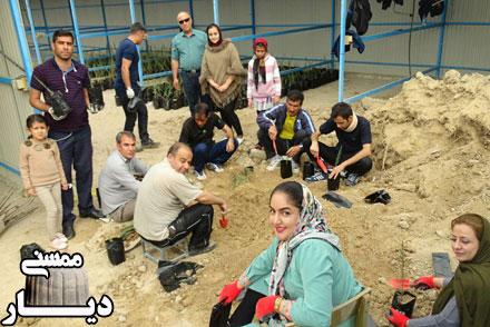 فعالیت انجمن حامیان طبیعت زاگرس ممسنی برای ایجاد شهر سبز