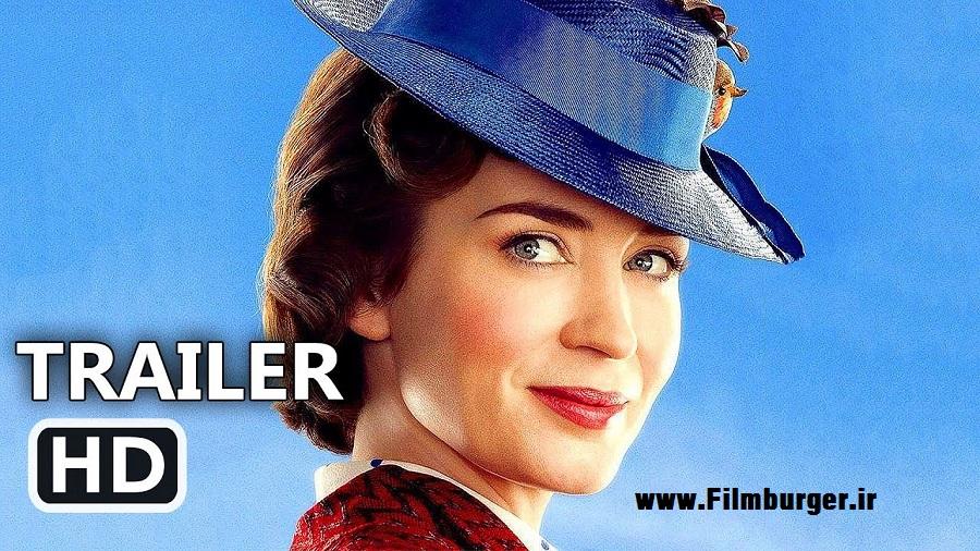 اولین تیزر تریلر فیلم Mary Poppins Returns با بازی امیلی بلانت منتشر شد !