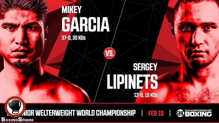 دانلود مسابقه بوکس  Sergey Lipinets  vs Mikey Garcia
