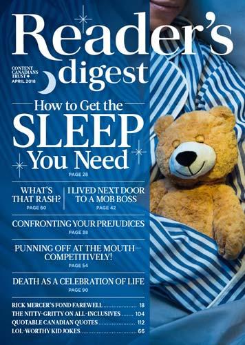 Readers Digest Canada April 2018
