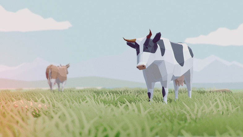 پکیج یونیتی Low Poly Animated Animals