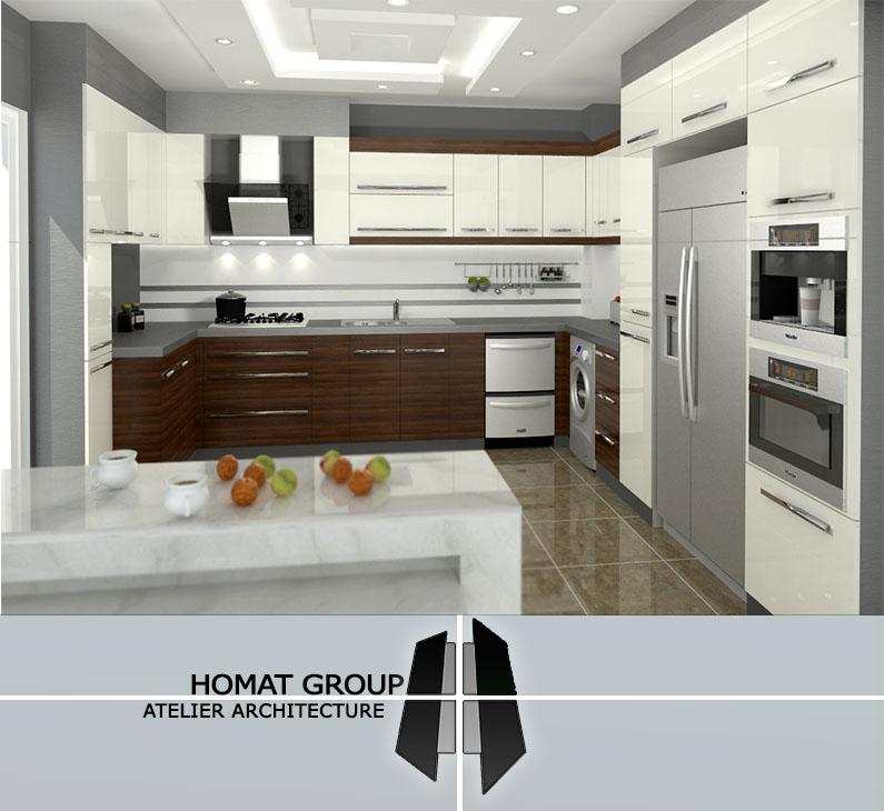 طراحی  آشپزخانه در تهران