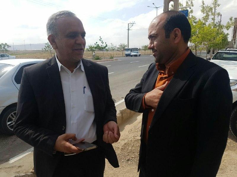 رایزنی شورای اسلامی آبیزبا مهندس جعفری مدیرکل راه و شهرسازی