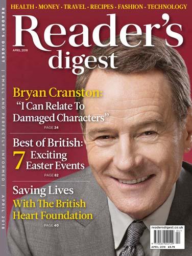 Readers Digest UK April 2018