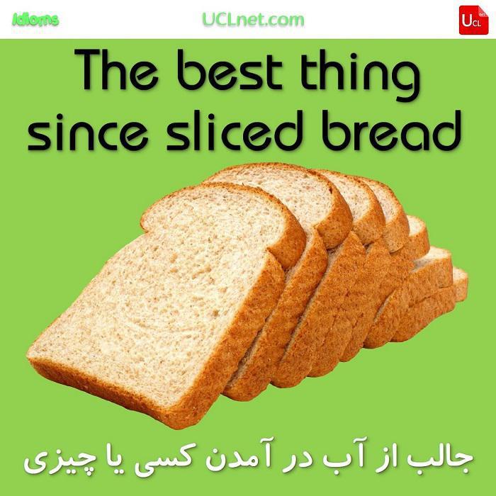 جالب از آب در آمدن کسی یا چیزی – The best thing since sliced bread – اصطلاحات زبان انگلیسی – English Idioms