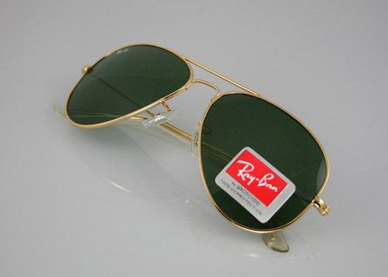 عینک آفتابی ارزان قیمت فریم طلایی