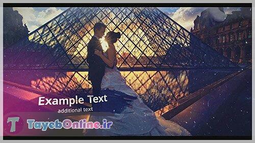 پروژه آماده افترافکت : فتوکلیپ عروسی