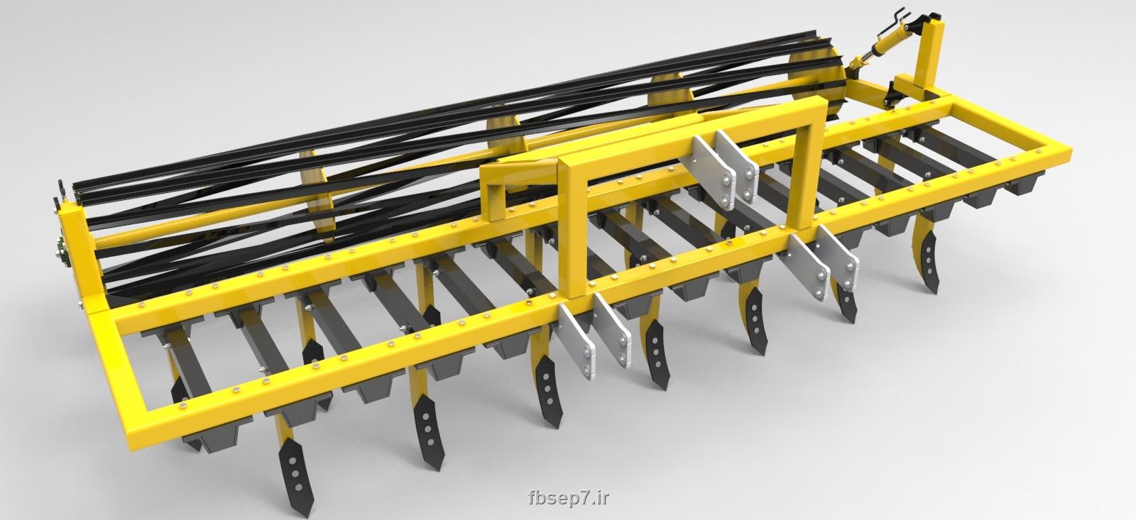 دانلود پروژه طراحی کولتیواتور - ادوات کشاورزی در سالیدورک solidwork
